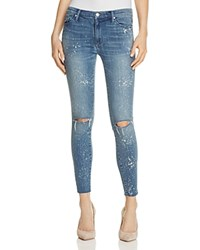 Black Orchid Noah Ankle Fray Jeans In Hysteria