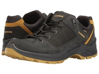 Lowa Terrios Gtx Lo Graphite Mustard Men's Shoes Gray