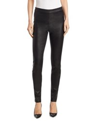 Saks Fifth Avenue Collection Leather Legging Black