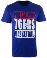 47 Brand '47 Men's Philadelphia 76Ers Compton Club T Shirt Royalblue