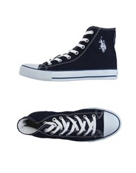 U.S. Polo Assn. U.S.Polo Assn. Footwear High Tops And Trainers Men Dark Blue