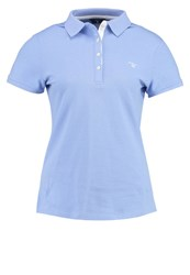 Gant Polo Shirt Lavender Blue Purple