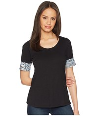 Aventura Clothing Element Short Sleeve Top Black