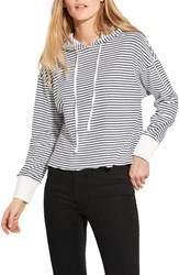 Ayr The Foam Hoodie Black Stripe