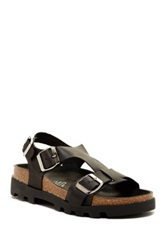 Sixtyseven Neva Leather Sandal Black