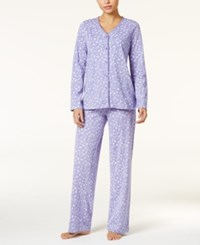 Charter Club Loop Trimmed Knit Pajama Set Only At Macy's Dandelion