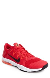 Nike Men's Zoom Train Complete Training Shoe Red Crimson White Black