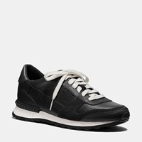 Coach Moonlight Patchwork Sneaker Black Black