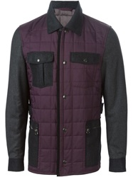 Lanvin Quilted Jacket Red