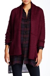 Romeo And Juliet Couture 2 Pocket Cardigan Purple
