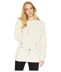 Bishop Young Simone Sweater Ivory White