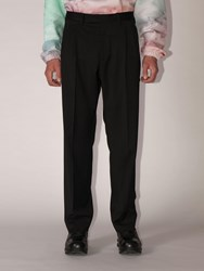 Off White Lvr Exclusive Classic Virgin Wool Pants Black