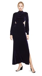 Fame And Partners The Elizabeth Dress Navy