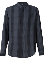 Neuw Plaid Long Sleeve Shirt Black