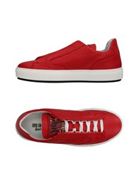 Dirk Bikkembergs Sport Couture Sneakers Red