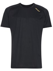 2Xu Black Ghst Short Sleeve T Shirt
