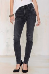 Nasty Gal Citizens Of Humanity Carlie High Waisted Skinny Jean Distressed