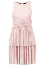 Tfnc Yuana Cocktail Dress Party Dress Nude Beige