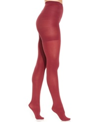 Star Power By Spanx Center Stage Shaping Brief Tights 2154 Deep Ruby