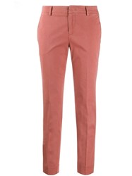 Pt01 Slim Fit Trousers Pink