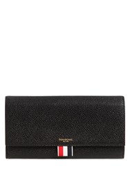 Thom Browne Pebble Leather Continental Wallet