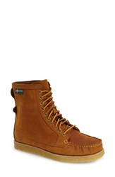 Women's Eastland 'Mackenzie 1955' Crepe Sole Lace Up Moc Boot Peanut