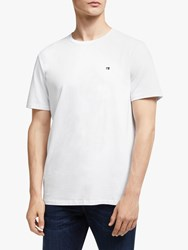 Scotch And Soda Elevated T Shirt White