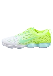 Nike Performance Zoom Fit Agility Sports Shoes Volt Artisan Teal Liquid Lime White Neon Yellow