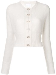 Alice Mccall The Sign Cardigan White