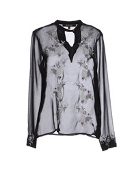 Cuple Shirts Blouses Women Black