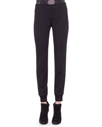 Akris Punto Jersey Tapered Ankle Pants