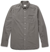 Rag And Bone Button Down Collar Cotton Shirt Gray