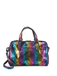 Aimee Kestenberg Presley Speedy Leather Satchel Multicolor
