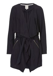 Betty Barclay Unlined Waterfall Coat Sapphire