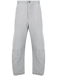 Forme D'expression Relaxed Fit Tailored Trousers Grey