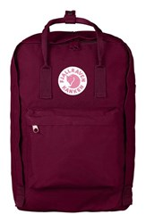Fjall Raven Fjallraven 'Kanken' Laptop Backpack Purple Plum