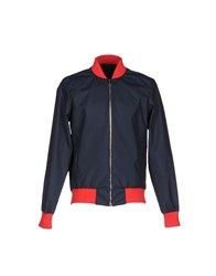 Andrea Incontri Jackets Dark Blue