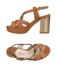 Couture Sandals Tan