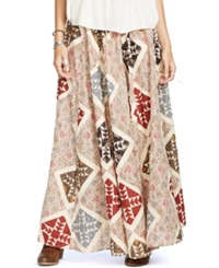 Denim And Supply Ralph Lauren Patchwork Maxi Skirt Woodburn Patchwork