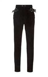 Isabel Marant Gabe High Waist Trouser Black