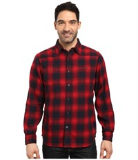 Mountain Khakis Saloon Flannel Shirt Cardinal Clothing Red