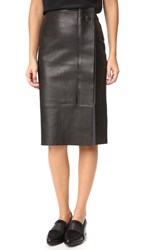 Grey Jason Wu Pencil Skirt Black Gravel