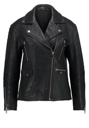2Nd Day Leather Jacket Black
