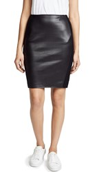 Bailey 44 Bailey44 Tolstoy Faux Leather Skirt Black