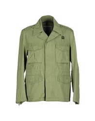 Blauer Jackets Green