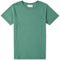 Hawksmill Denim Co. Pocket Tee Green