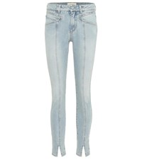 Givenchy Mid Rise Skinny Jeans Blue