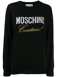 Moschino Couture Jumper Black