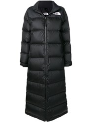 The North Face Long Pufer Coat Black