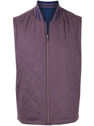 Kent And Curwen Reversible Padded Gilet 60